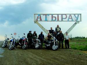 В Атырау пройдет фестиваль байкеров. Байкеры Атырау. Фото с сайта azh.kz