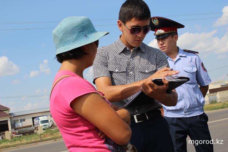 В Уральске разгоняли продавцов арбузов на дороге garbuz7