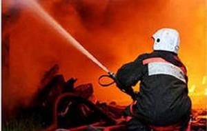 В Атырау в супермаркете произошел пожар i1