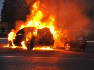 В Атырау за один день сгорели 3 машины Иллюстративное фото с сайта newsday29.ru
