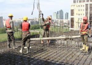 Казахстан продолжает увеличивать темпы строительства Фото 24.kz