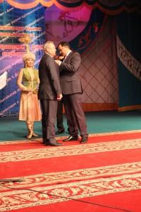 В Уральске строители отметили свой профессиональный праздник 1111