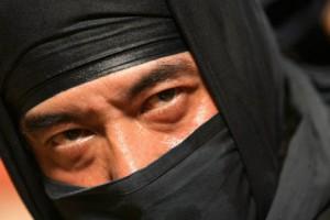 Американский ниндзя будет наказан за попытки притвориться камнем Фото: Mike Clarke / AFP