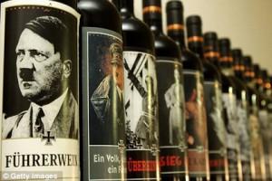 Туристы пожаловались на итальянское вино с Гитлером на этикетке Фото: whatsonsanya.com