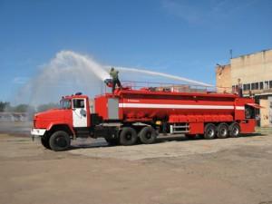 В Казахстане появится пожарный автопоезд нового типа Фото auto.lafa.kz
