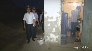 В Атырау прошла операция «Участок» 1