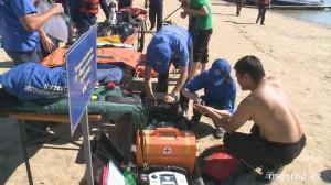В ЗКО на озере Шалкар спасли 11 человек 1