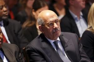 Эль-Барадей ушел в отставку с поста вице-президента Египта Мохаммед эль-Барадей Фото: Justin Tallis / AFP