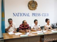 Члены НПО «Вернем Аблязова» требуют отдать украденные банкиром деньги народу фото Алмаза Толеке