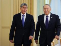 Назарбаев встретился с Атамбаевым фото с сайта akorda.kz