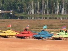Новости - В Подмосковье казахстанцы стали вторыми в танковом биатлоне фото пресс-службы МО РК.