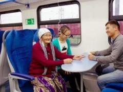 Новости - По маршруту Астана-Павлодар запустили электропоезд повышенной комфортности Фото today.kz