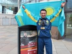 Новости - На XV Всемирных Играх полицейских и пожарных казахстанец завоевал две золотых медали фото пресс-службы ДВД Алматы