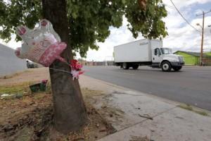 Новости - Восьмилетний американец угнал машину матери Место происшествия Фото: Matt York / AP