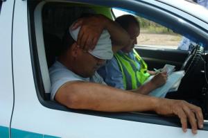 В Уральске водители занимаются перевозкой пассажиров незаконно  Фото предоставлено пресс-службой ДВД ЗКО