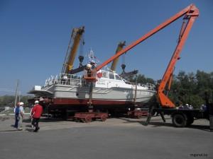 В Уральске готовятся спустить на воду новый катер SAMSUNG DIGITAL CAMERA