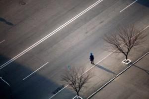 Дочь куратора пхеньянской полиции сбежала в Южную Корею Пхеньянская полицейская Фото: David Guttenfelder / AP