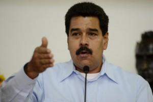 США закрыли воздушное пространство для самолета президента Венесуэлы Президент Венесуэлы Николас Мадуро Фото: Leo Ramirez / AFP