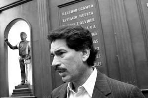 Мексиканского депутата зарезали во время интервью Освальдо Эскивель Лукатеро Фото: ciberadioretro.com.mx
