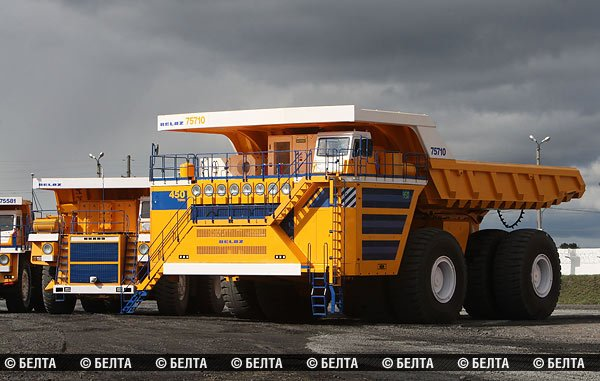 В Белоруссии построили самый большой в мире автомобиль 1