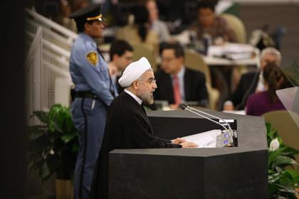 Президент Ирана счел Холокост «достойным порицания» Хасан Рухани Фото: John Moor / Getty Images / AFP