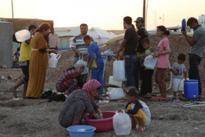 Швеция даст всем беженцам из Сирии право на постоянное проживание Сирийские беженцы Фото: Yahya Ahmad / Reuters
