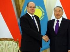 Назарбаев обсудит вопросы сотрудничества с князем Монако Альбером II фото с сайта newskaz.ru