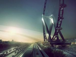 Япония построит самое большое колесо обозрения в мире Фото runews24.ru