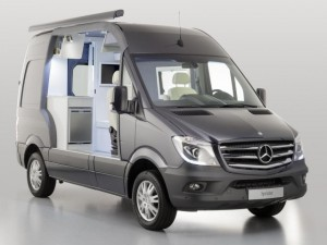 Sprinter Caravan: поездка будет комфортной! Фото auto.lafa.kz