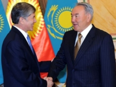 Назарбаев и Атамбаев обсудили вопросы региональной безопасности фото с сайта akorda.kz