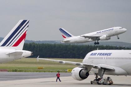 Из французского самолета украли 44 килограмма золота Фото: Joel Saget / AFP