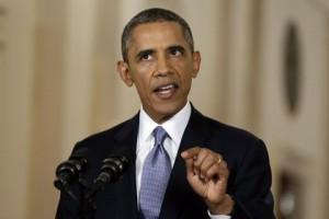 Обама выступил с обращением к американцам по сирийскому вопросу Президент США Барак Обама Фото: Evan Vucci / POOL / AFP