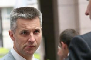 Латвийский министр затосковал по «немецкому сапогу на латвийской земле» Артис Пабрикс Фото: Gerard Carles / AFP