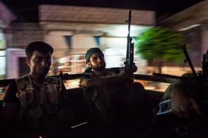 В Киргизии предотвратили теракт с сирийским следом Сирийские боевики Фото: Daniel Leal-Olivas / AFP