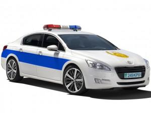Дорожные полицейские пересядут на Peugeot? Фото auto.lafa.kz