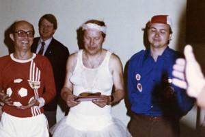 Опубликованы фотографии с костюмированной вечеринки агентов Штази Фото: Simon Menner