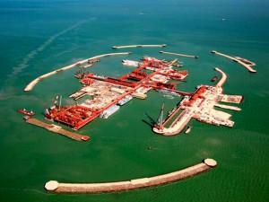 На Кашагане добыли первые баррели нефти Фото с сайта www.cbs-atyrau.kz