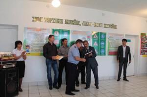 ЗКО. В узункольской школе открылся зал ПДД PDD