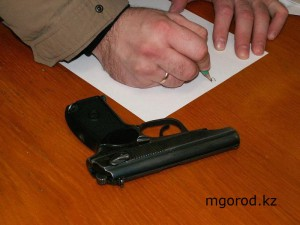 В Актюбинской области выкупят оружие на 14 млн тенге gun copy