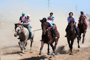 В Атырау во время байги умышленно ранили коня Иллюстративное фото с сайта www.m-astana.kz