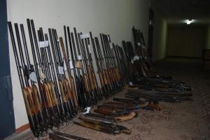 Актюбинцы расстаются с раритетными ружьями orujie