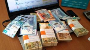 Новости Уральск - В ЗКО чаще стали подделывать тенге Иллюстративное фото с сайта www.youtube.com