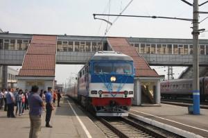 """На один рейс отменяется пассажирский поезд №87/88 """"Астана-Актобе"""" Фото с сайта horde.me"""