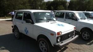 Новости Атырау - В Атырау ветеринарам дали новые машины vet