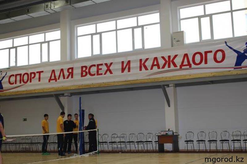 В Уральске открылся универсальный спортивный зал 004