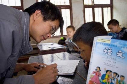 Новости - Китайские учителя оказались самыми уважаемыми Занятия в китайской школе Фото: Reuters