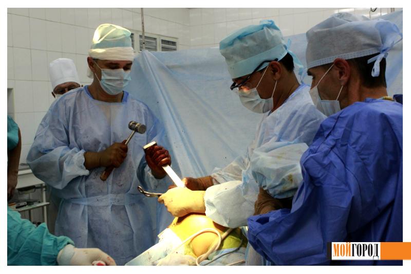 """""""Мой ГОРОД"""" побывал в операционном зале областной больницы 11"""
