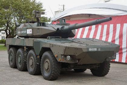 Япония создала новую боевую машину MCV Фото: Kyodo