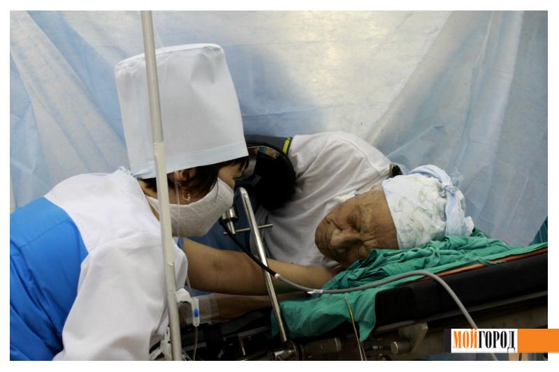 """""""Мой ГОРОД"""" побывал в операционном зале областной больницы 13"""