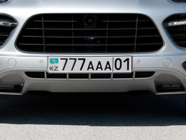 «Блатные» номера официально в продаже с января 2014 года Фото auto.lafa.kz